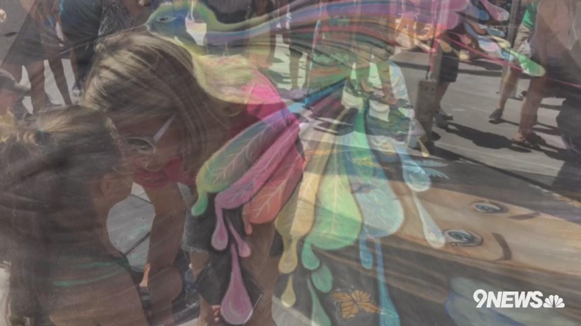 Denver Chalk Art Festival 9news Com