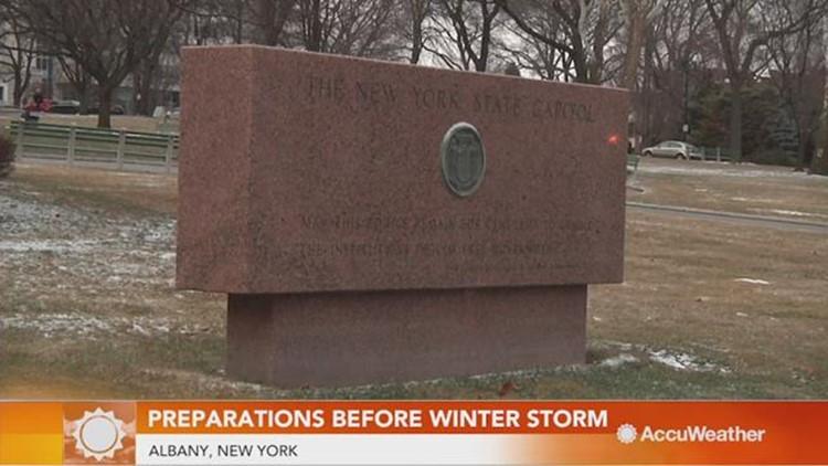Preparations ramping up ahead of major winter storm