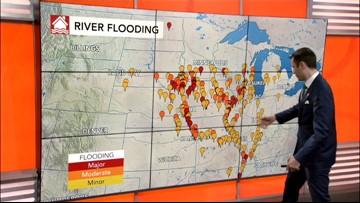Rain to spread across central Plains on Tuesday