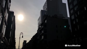 New study shows how much sunlight buildings receive