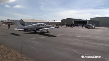 Pilots volunteer in Nebraska flood relief