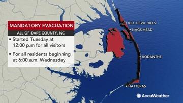 World's largest sandbags' to take on Hurricane Dorian