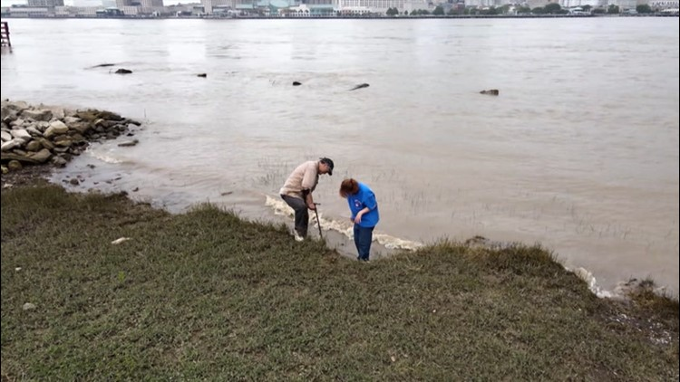 Storms and floods resurface relics from Gulf Coast