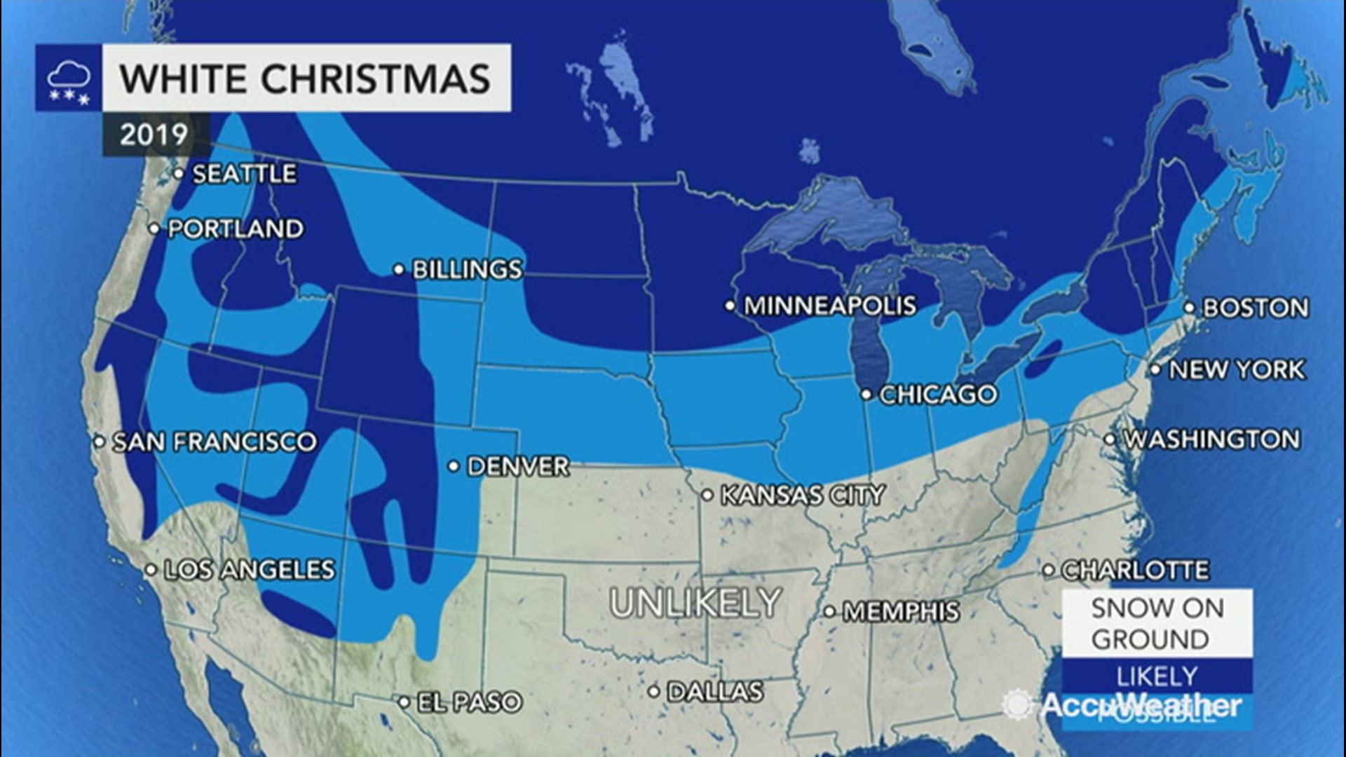 Will Denver Get A White Christmas 2020 White Christmas watch: Which cities have snow in the forecast, and
