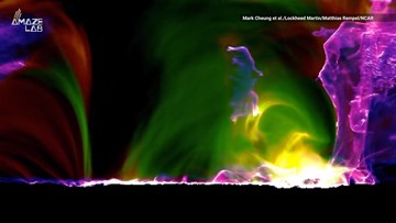 Mesmerizing Animation Shows Entire Life Cycle of a Solar Flare