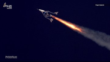Virgin Galactic Reaches Edge of Space in Historic Test Flight