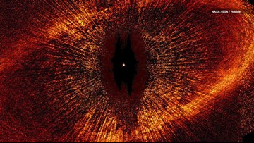 This Star Looks Eerily Like Lord of the Rings' Eye of Sauron