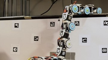 Robot Snake Advances High-Tech Search and Rescue