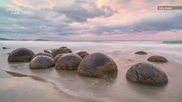 Perfectly Round New Zealand Boulders May Have Formed Like a Pearl