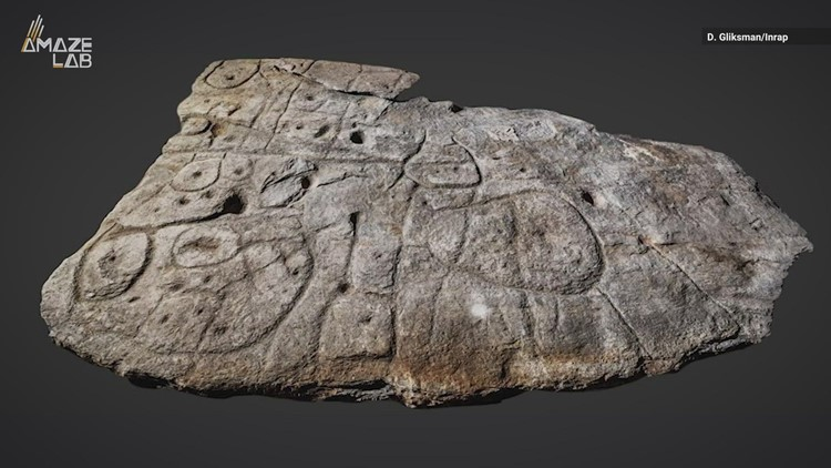 This Stone Slab May Have Been Europe's Oldest Map
