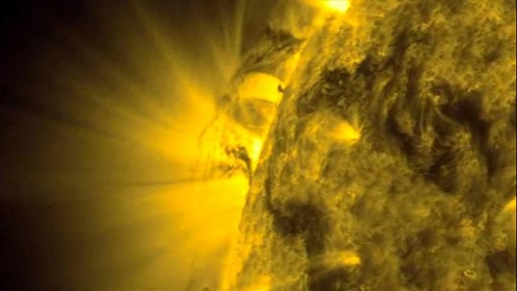 Could This Be a Tornado on the Sun? NASA Thinks So