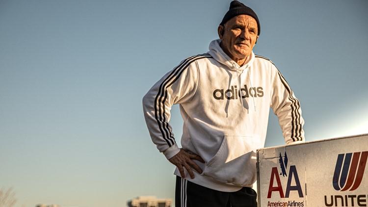 Man pushes beverage cart 200 miles in memory of 9/11 flight crews