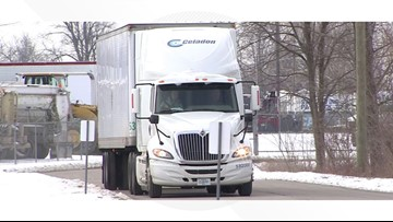 Truckers stranded across the country after company shuts down