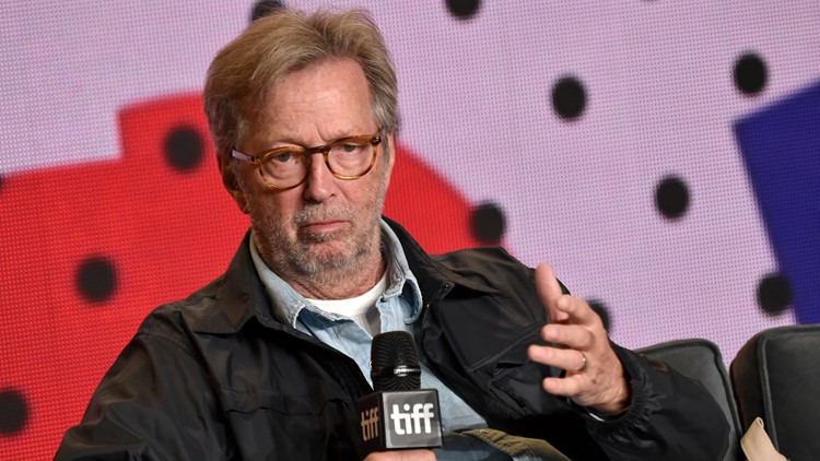 Eric Clapton says he won't play venues that require COVID vaccines