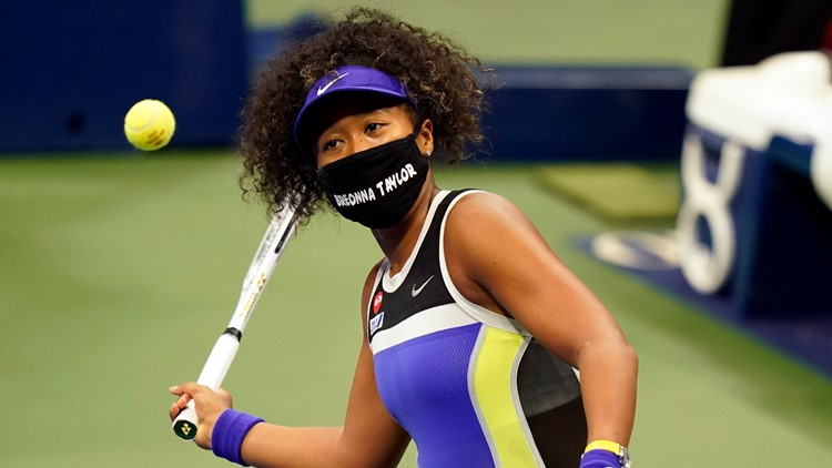 Osaka wears mask in memory of Breonna Taylor at US Open