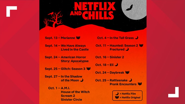 Netflix and Chill lineup