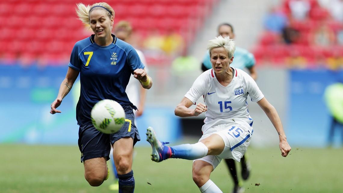 US women's soccer to open vs. Sweden at Olympics