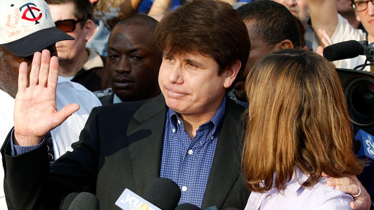 Rod Blagojevich March 2012 file photo