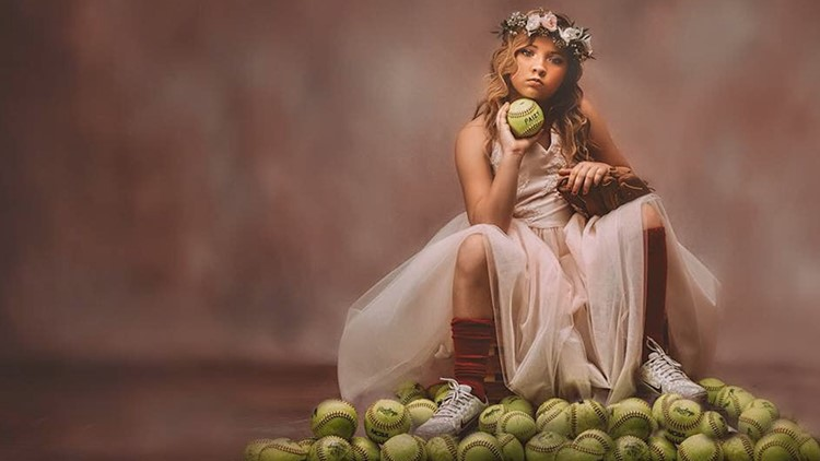 Sparkles and sports: Mom brushes off criticism with photo shoots showing girls can do it all
