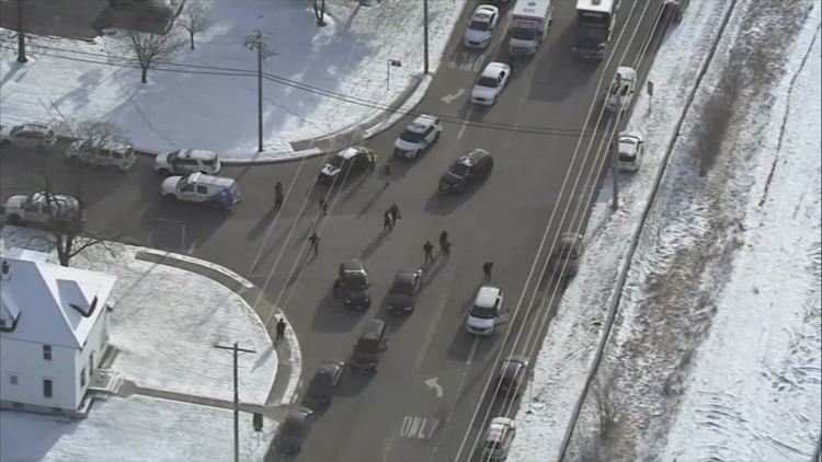 Police respond to active shooter report at NJ UPS