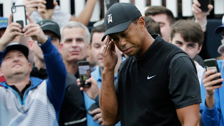 Tiger Woods at PGA Championship misses cut