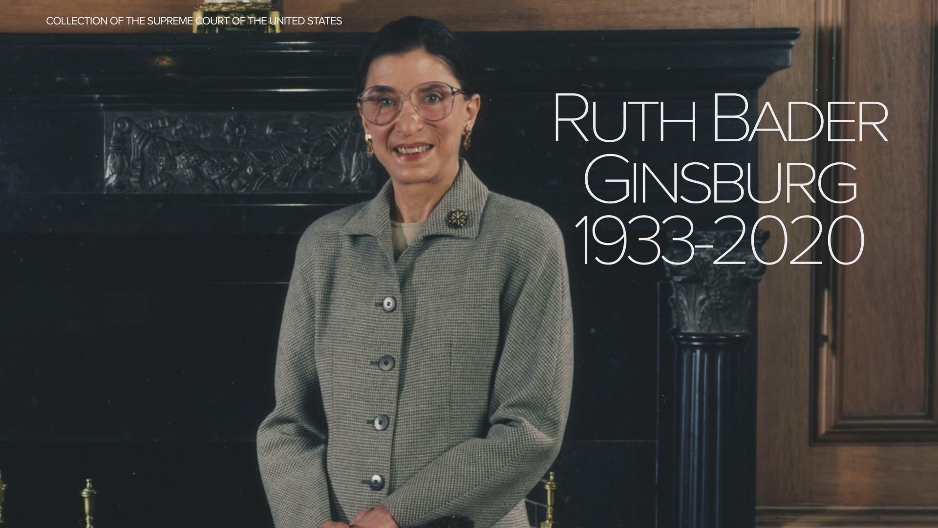 Ruth Bader Ginsburg Dead At 87 9news Com