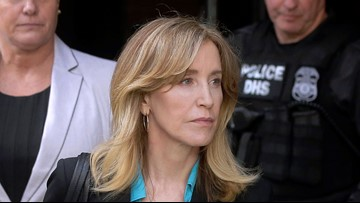 New photos emerge showing Felicity Huffman in prison