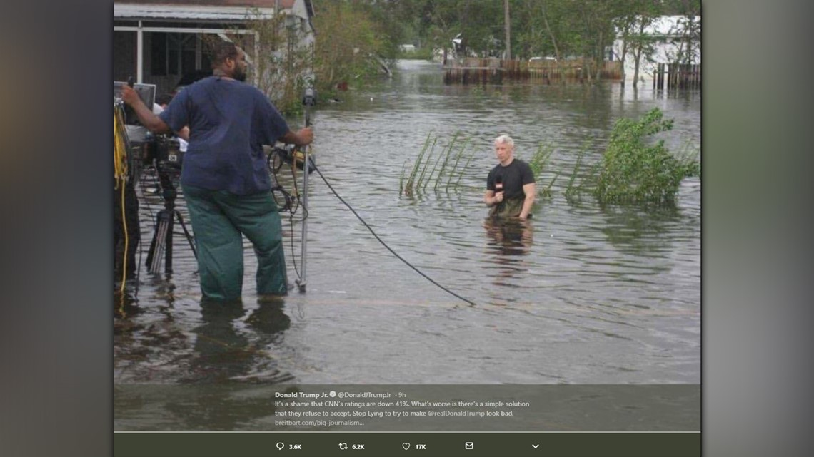 Gas Prices In Colorado >> Anderson Cooper addresses viral hurricane photo on CNN   9news.com