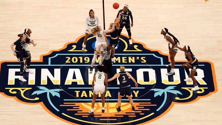 Tampa, Phoenix chosen as women's Final Four sites