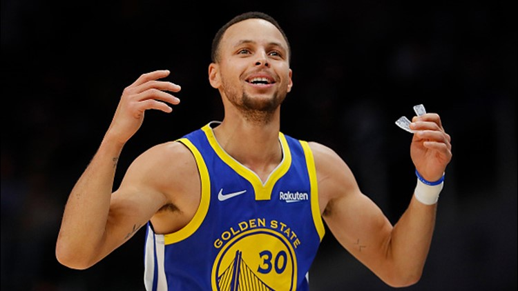 NASA wants to show moon rocks to Stephen Curry, who claims he doubts the landings