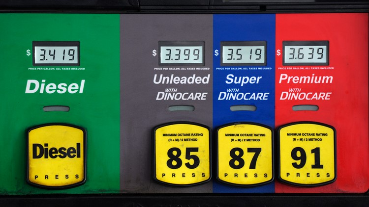 Gas prices rise again, no sign of letting up this summer