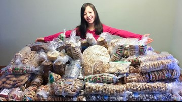This 9-year-old is raising money for rare diseases one cookie at a time