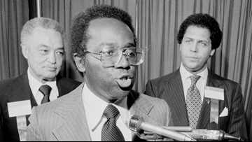 Richard Hatcher, one of the first big city black mayors, dead at 86