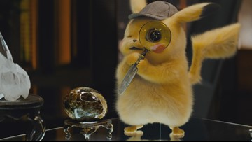 'Detective Pikachu' tries to dethrone the 'Avengers,' but just misses