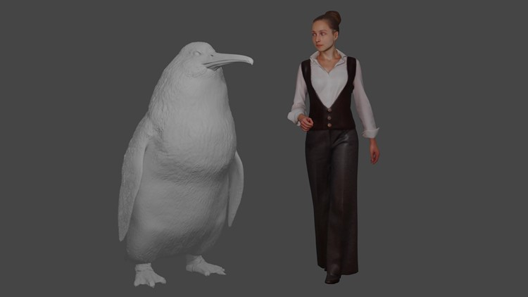 New Zealand Extinct Monster Penguin