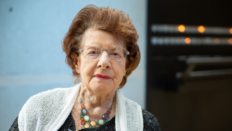 Holocaust survivor recalls the lie that saved her life at Auschwitz