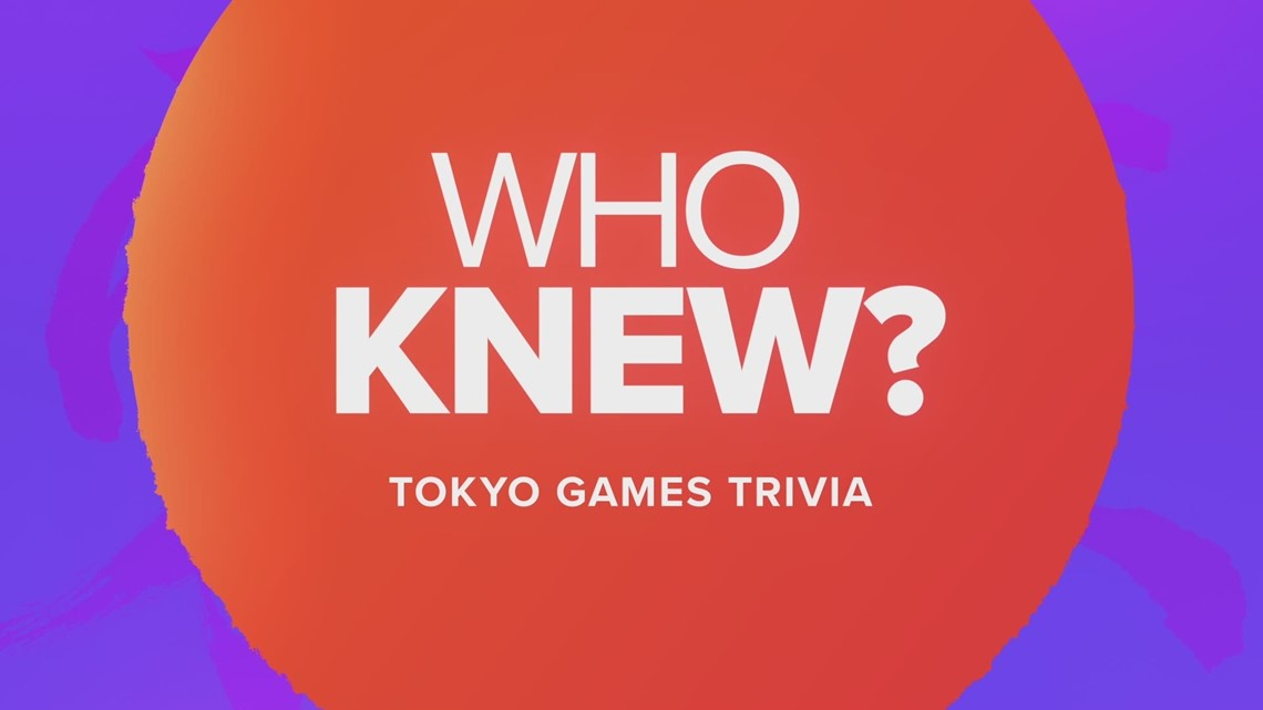 Who knew? Tokyo Games trivia