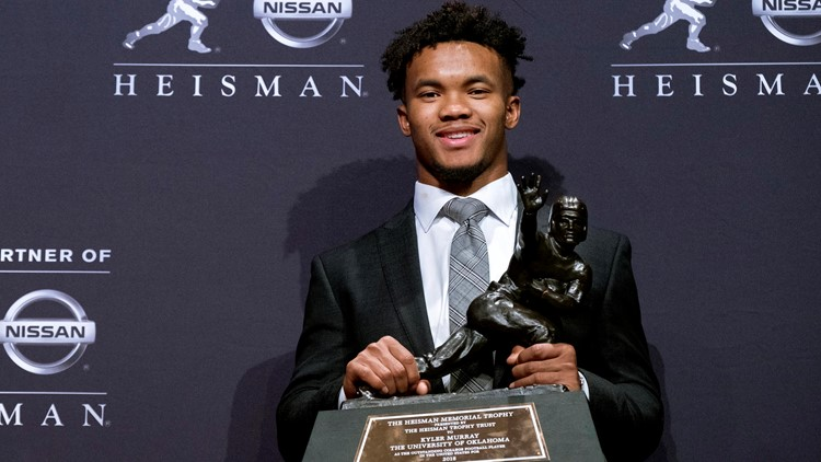 Kyler Murray heisman trophy winner