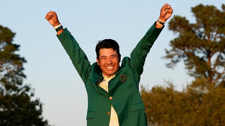 Matsuyama wins Masters, 1st man from Japan to win golf major