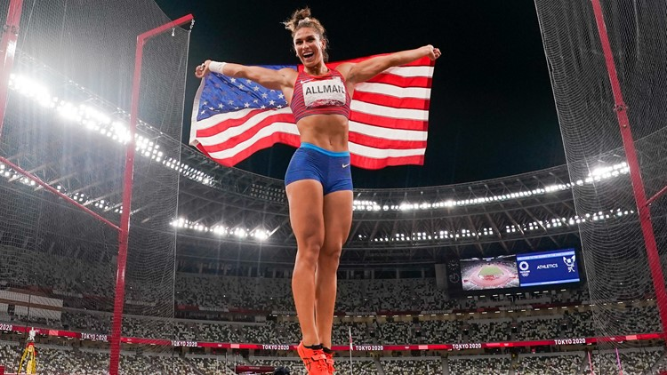 Colorado Olympian wins first track and field gold of the Tokyo Games