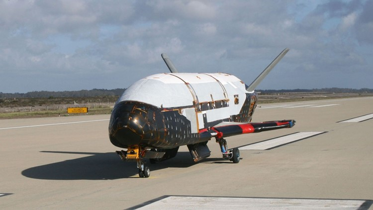 US space plane on secret mission breaks record for days in