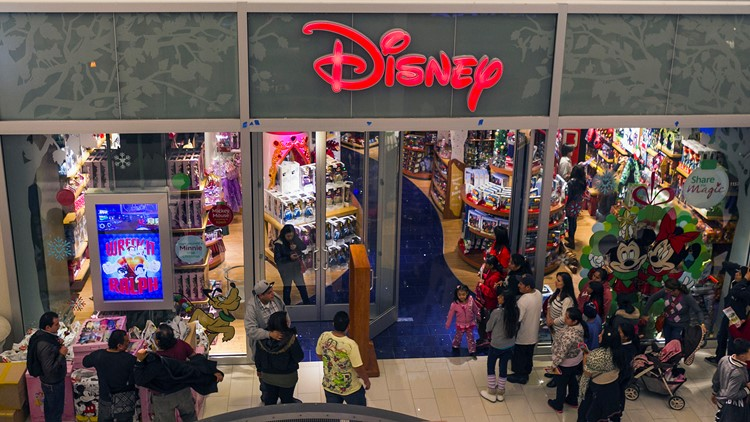 Reports: 60 Disney stores in North America shutting down