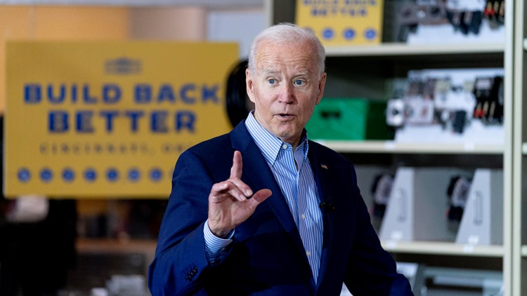 Biden says getting vaccinated 'gigantically important'