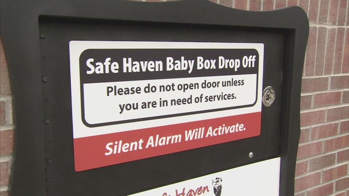 Mom leaves baby in Safe Haven box 30 days after it opened