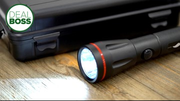 This tactical flashlight can be a great addition to your family's emergency kit