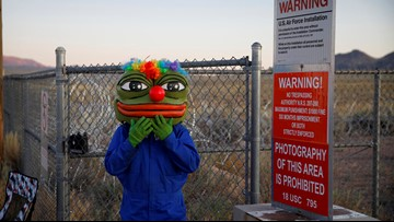 Thousands of Earthlings, no ETs at mostly peaceful 'Storm Area 51' event