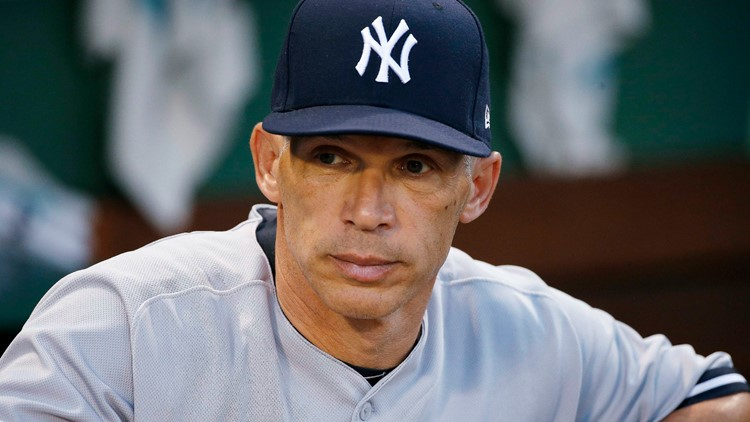 Cubs Manager Baseball New York Yankees manager Joe Girardi