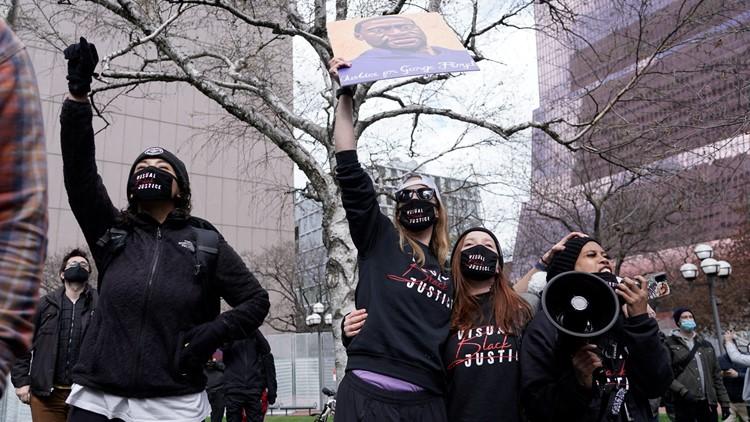 Reacciones en todo el país después del veredicto en contra de Chauvin