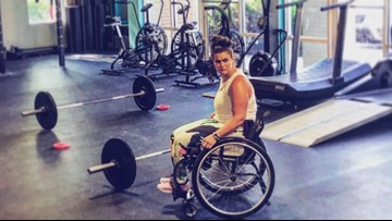 Cancer survivor with cerebral palsy runs CrossFit gym for athletes of all abilities