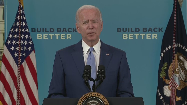 'We risk losing our edge as a nation if we don't move' | Biden talks infrastructure progress